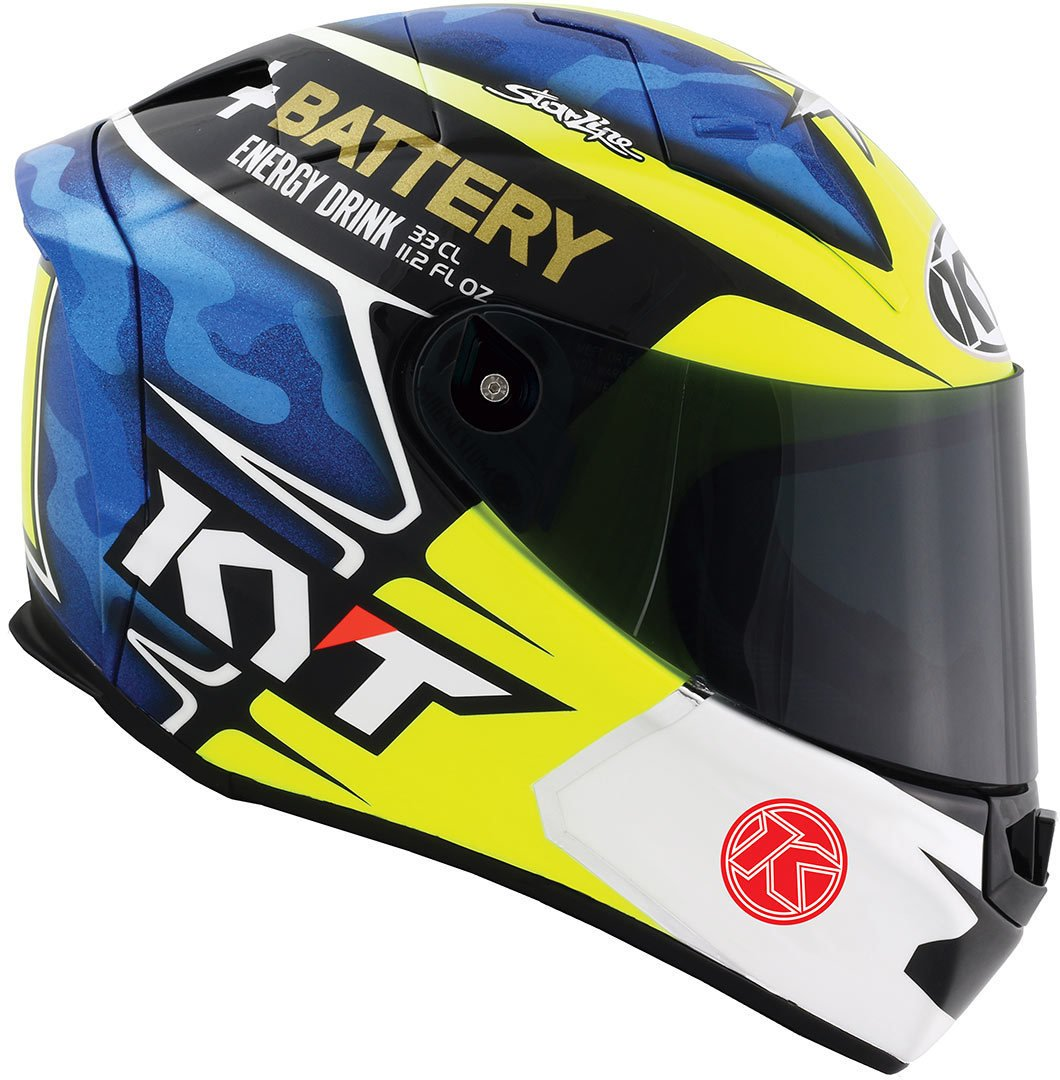 Amazon.es: KYT ysth0010.5 Casco Moto, multicolor, L
