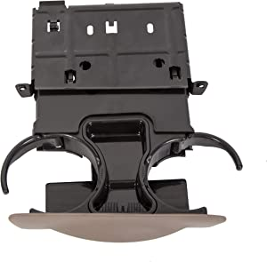 KUAFU Dash Cup Holder Parchment Tan for Ford Super Duty 1999-2004 F250 F350 F450 F550-Replace Part# YC3Z-2513560-CAB