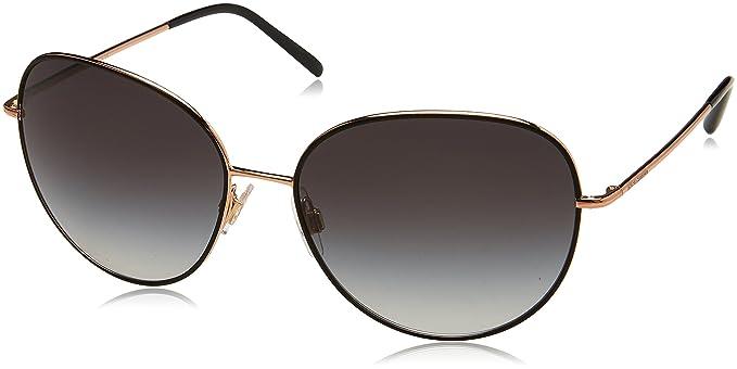 Dolce & Gabbana Herren Sonnenbrille 0DG4318 313987, Schwarz (Havana Clear Black/Grey), 55