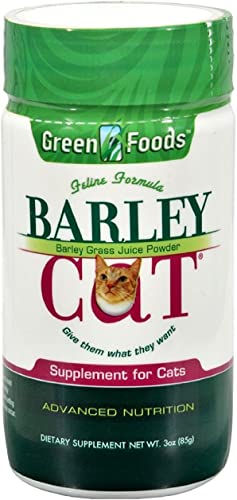Green Foods Corporation Barley Cat Grass Powdered Juice, 3 Ounce – 3 per case.