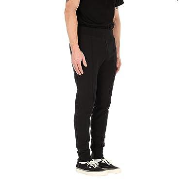 ccb058e93140 Champion Reverse Weave Rib Cuff Sweat Pants Black  Amazon.co.uk  Clothing