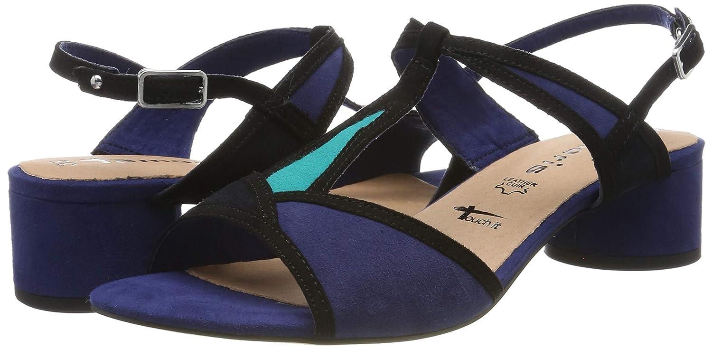 Tamaris Women's 1 1 28256 32 818 T Bar Sandals: Amazon.co.uk