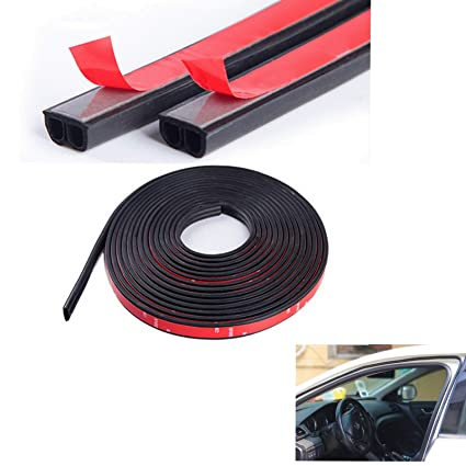 b986aefb2e269 Image Unavailable. Image not available for. Color  Universal Automotive  EPDM Rubber Seal Strip 4M B-Shape ...