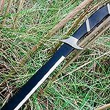 K EXCLUSIVE War Hunter Sawback Machete with Nylon