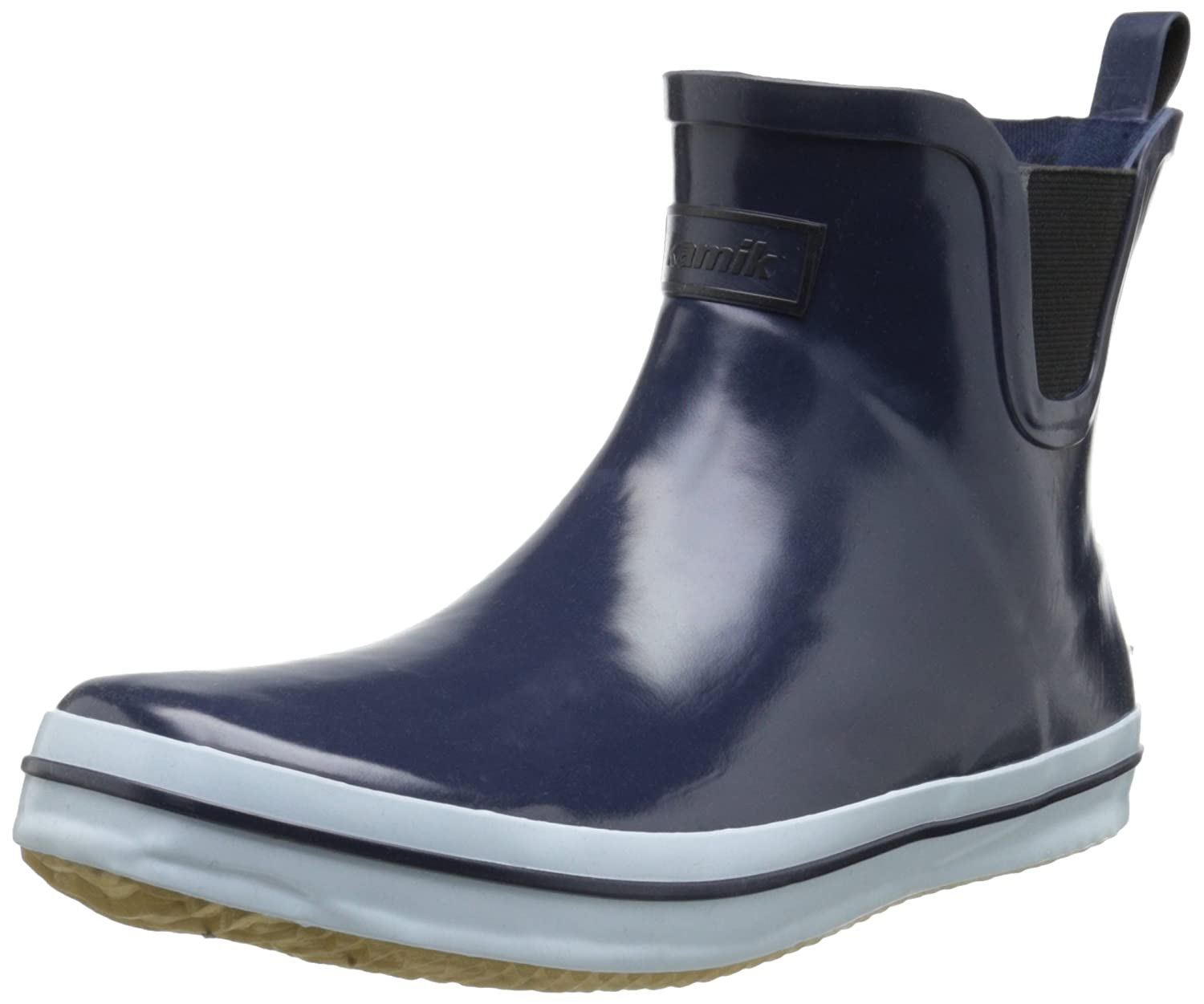 Kamik Women's Sharon Ankle-High Rain Boot B00M076WO4 10 B(M) US|Navy