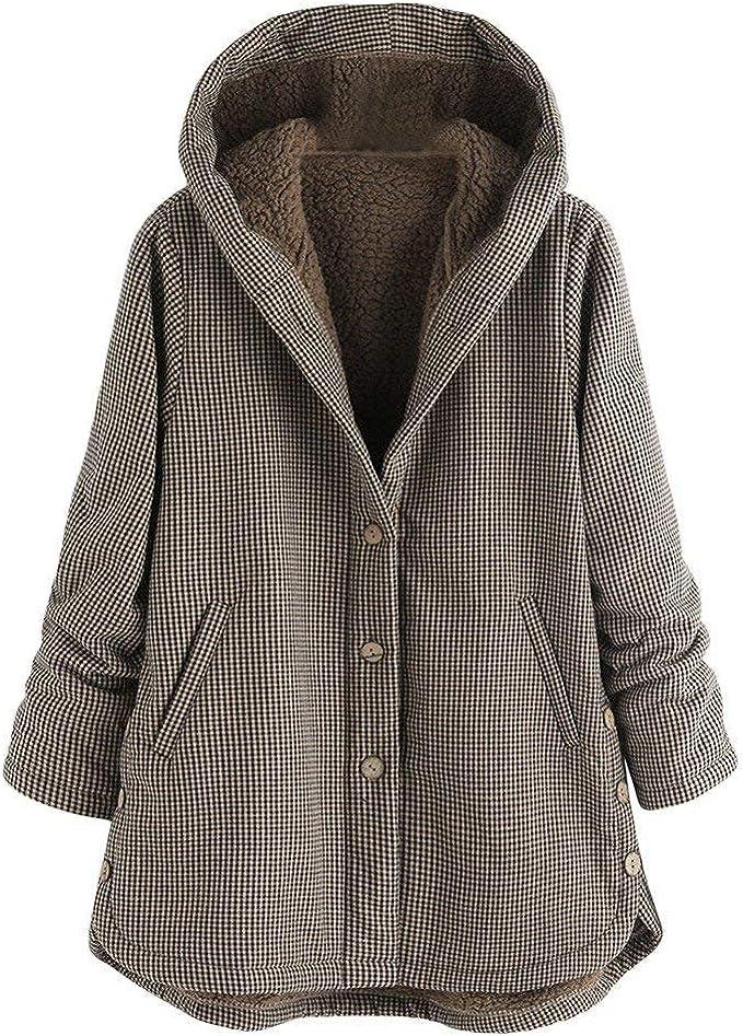Damen Lange Jacke Mantel Kapuzenjacke Winter Kapuzen Thermojacke Hoodie Outwear