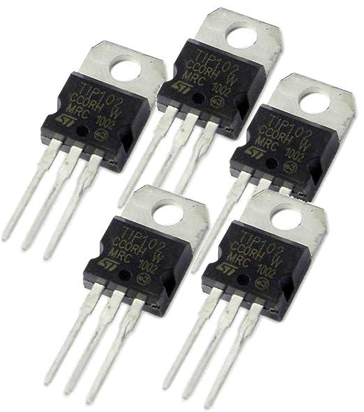 5PCS LOT OF 5 TIP102 TRANSISTOR TO-220 TIP102
