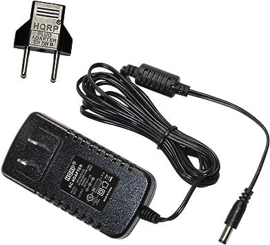 HQRP Cargador Adaptador de CA Compatible con Yamaha PSR-E433 ...