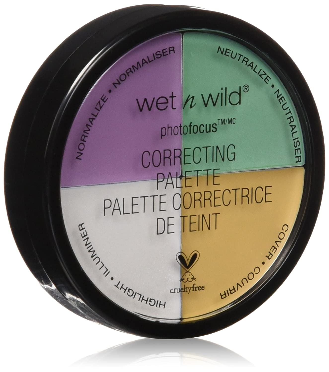Wet n Wild 349 Photo focus correcting palette, 0.22 Ounce, Color Commentary Markwins Beauty Products