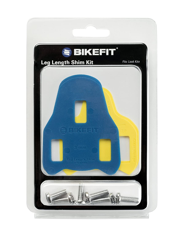 Bike Fit Look Keo Leg Length Shim with Screws, 3mm by BikeFit