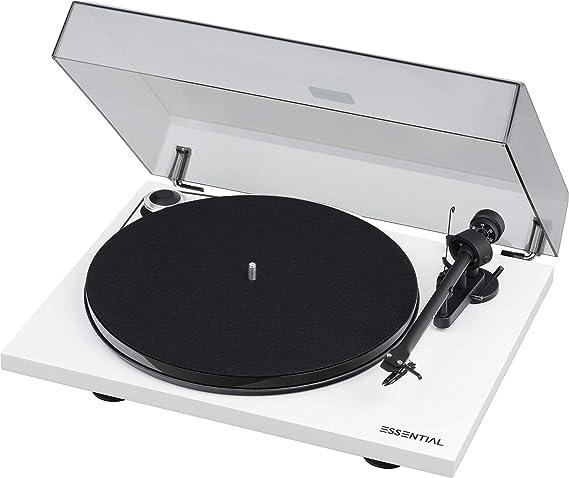 Pro Ject Essential Iii Phono Audiophiler Best Buy Plattenspieler Mit Phono Vorstufe Weiß Audio Hifi