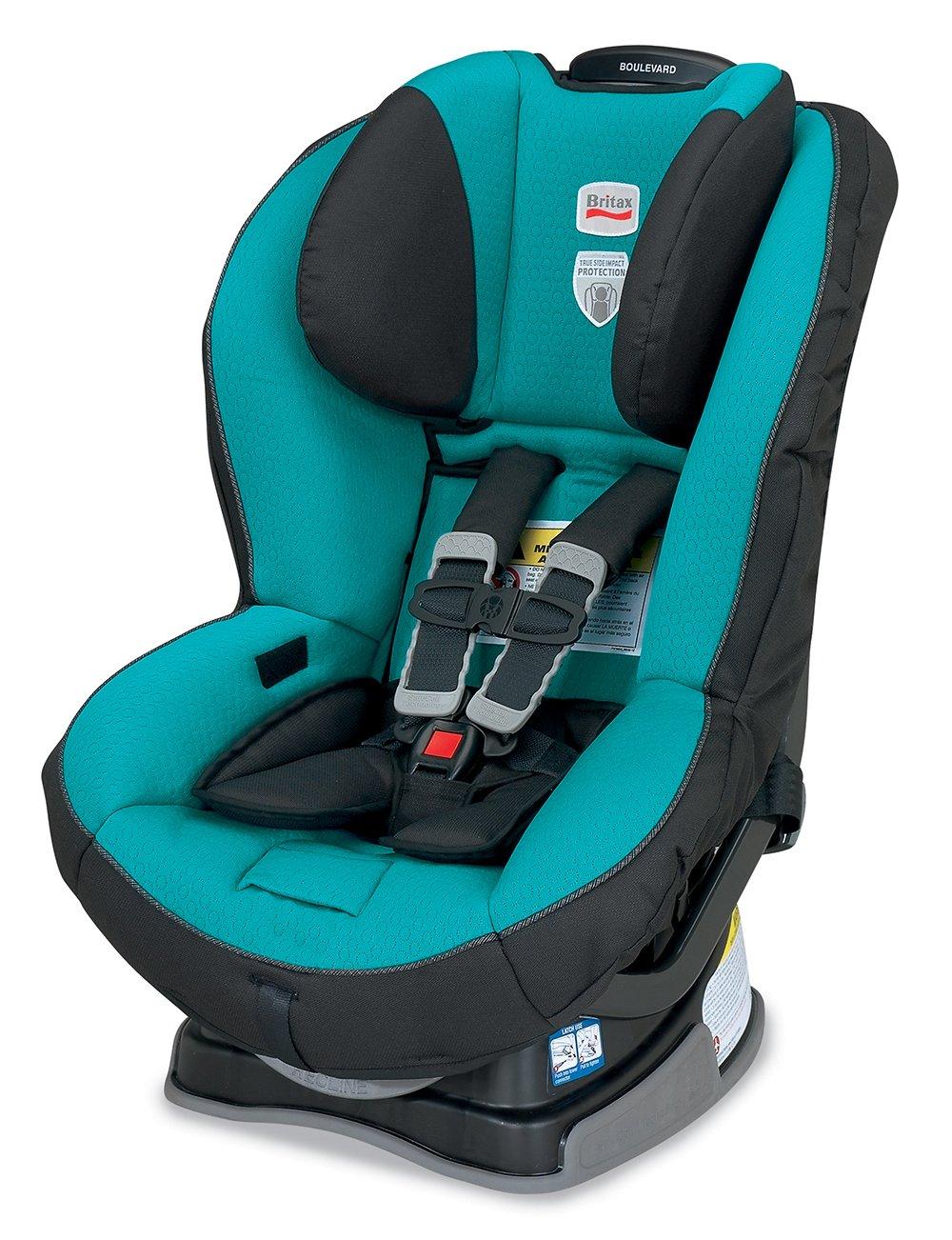 Amazon.com : Britax Boulevard G4 Convertible Car Seat, Laguna ...