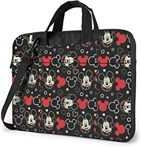 15.6 Inch Laptop Bag Mickey Mouse Laptop Briefcase Shoulder Messenger Bag Case Sleeve