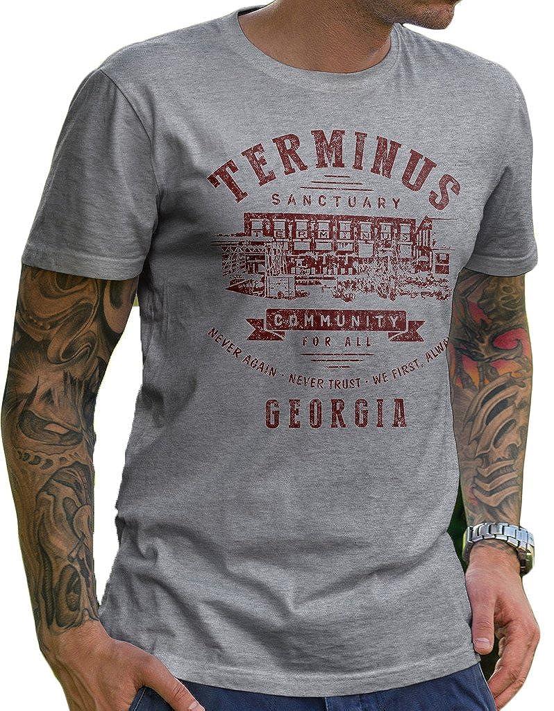 The Walking Dead Tshirt Terminus
