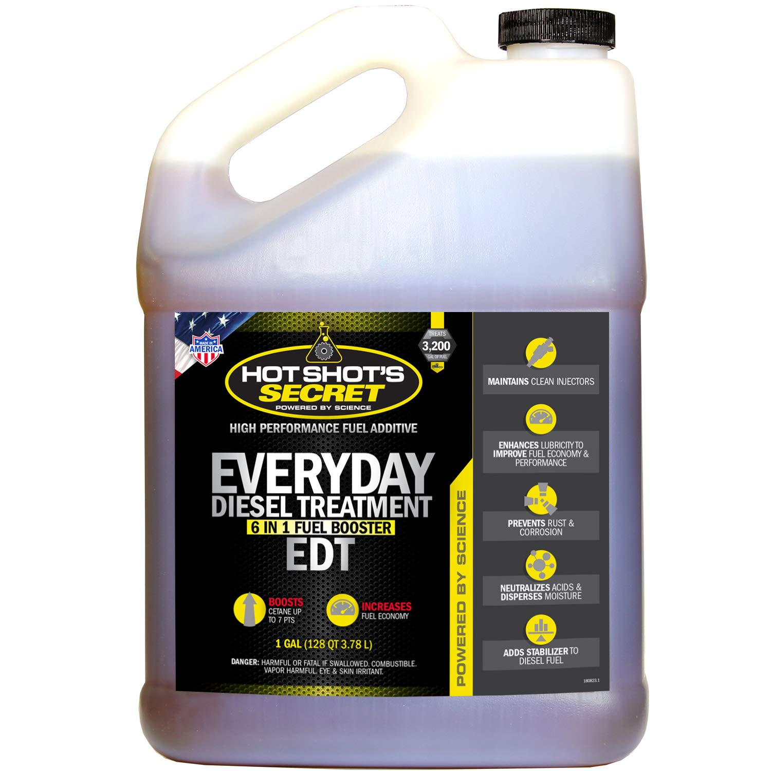 Hot Shot's Secret HSSEDT01G Everyday Diesel Treatment (EDT) 1 Gallon, 128. Fluid_Ounces by Hot Shot's Secret