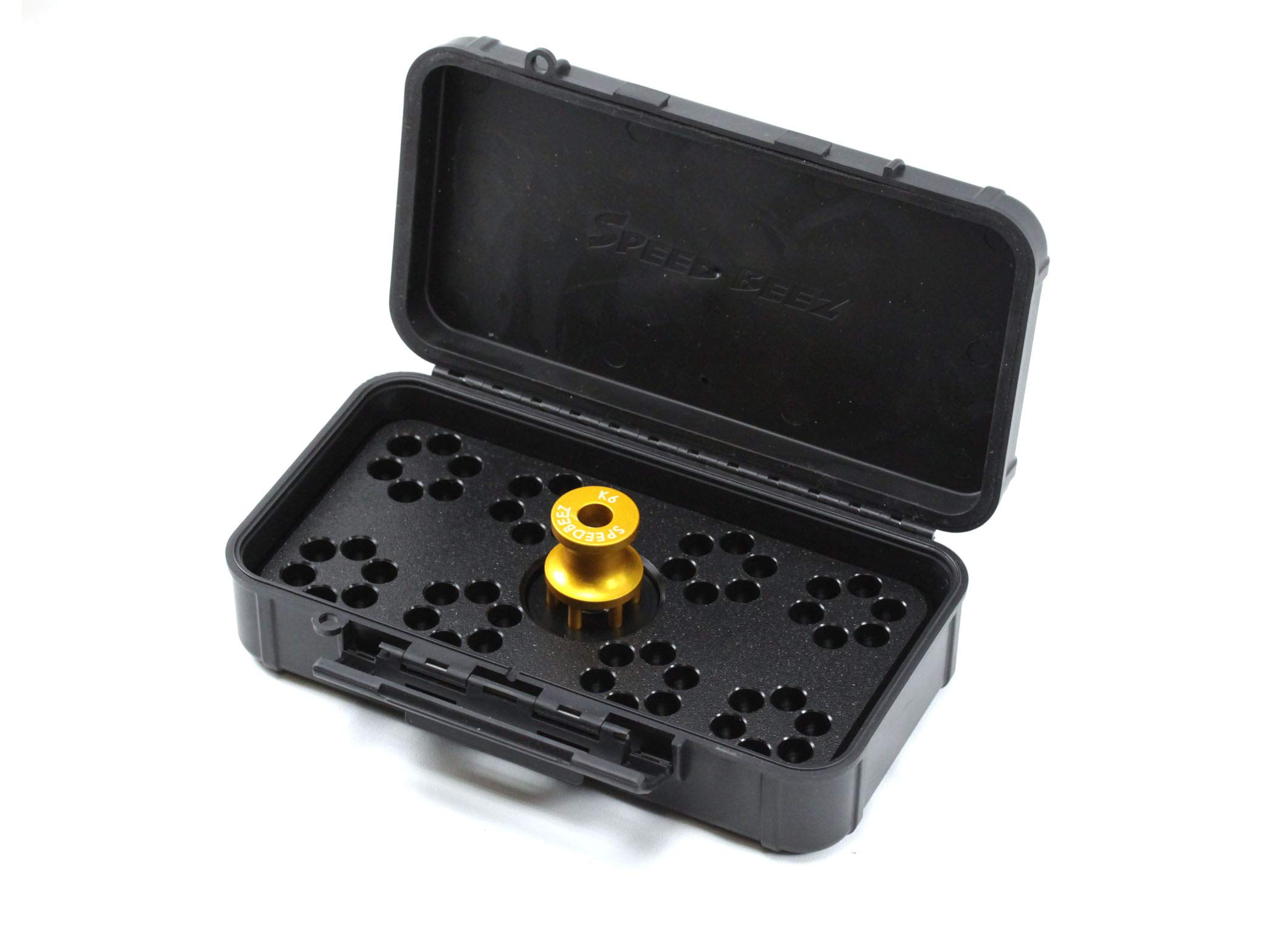 Speed Beez S&W 38 Special K Frame 6 Shot Loading Block and Case Speed Loader SBC Value Pack by Speed Beez