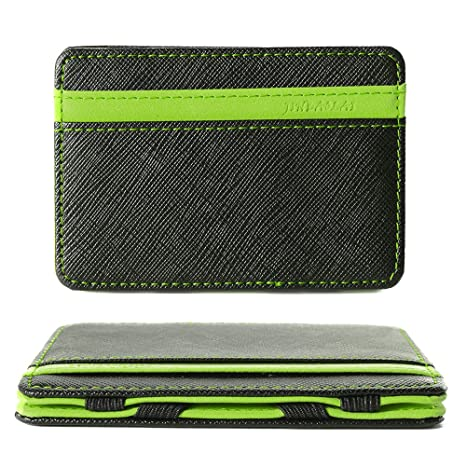 XCSOURCE Portafoglio Magico in simili cuoio - magic wallet Credit Card  Holder - porta moneta - 2736b0834b97