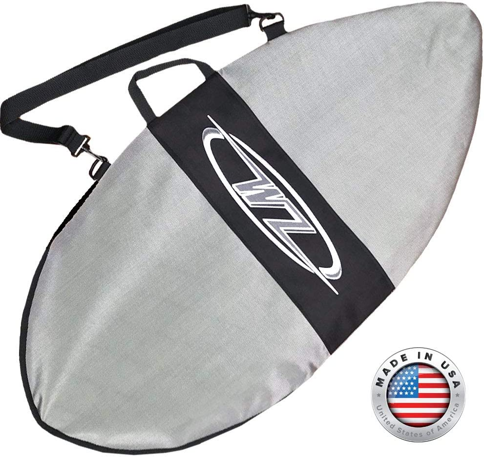 Blue 42 Board + Travel Bag Option Complete with Traction Deck Grip 42 Blue Wave Zone SE Carbon /& Fiberglass Skimboard for Beginners /& Kids Up to 130 lbs