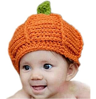 e665d52f66e Tonsee® 1pc Pumpkin Cap Knit Hat for Baby Costume Photography Prop Suitable  for 2-
