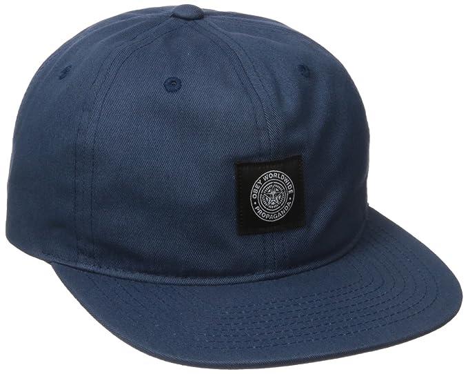 Obey Men s Worldwide Seal 6 Panel Hat 09eb249556b7