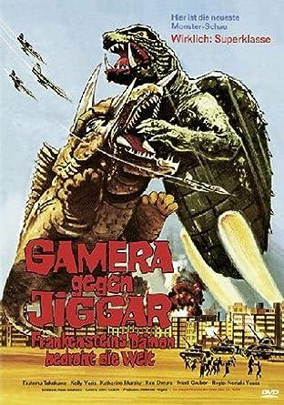 Gamera Gegen Jiggar Frankensteins Damon Bedroht Die Welt Limited