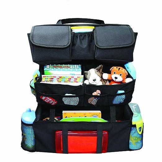 Amazon.com: On the Go Back Seat Car Organizer Storage - Black: Toys ...