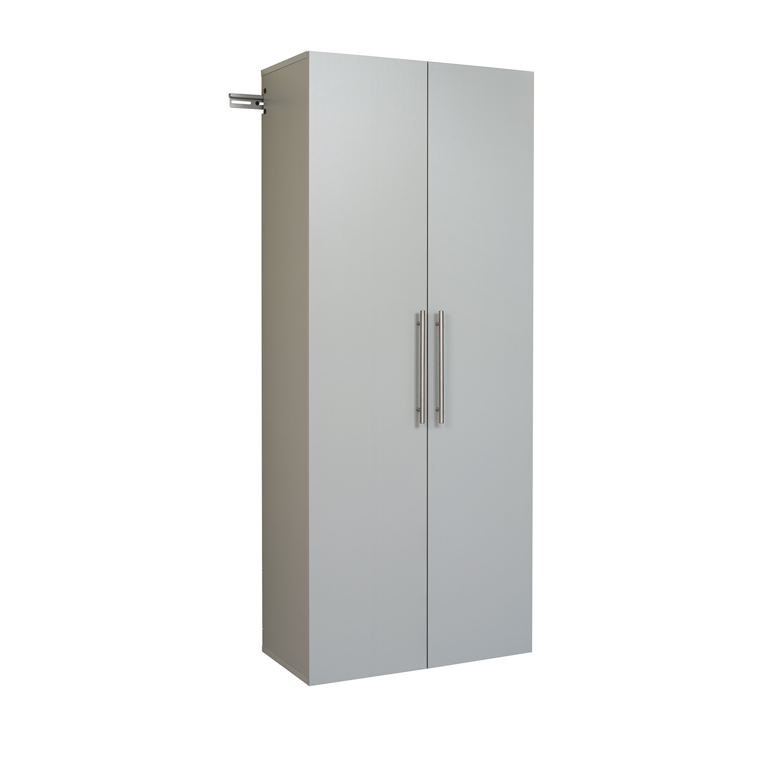 Prepac GSCW-0707-2K Hang-Ups Storage Cabinet, 30''/Large, Light Gray by Prepac