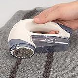 UZIPAL 衣服毛球修剪器 衣服针织衫除毛器 干电池式毛球修剪器 浮动刀头安全不伤衣服 (1个装)