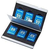 サンワサプライ アルミメモリーカードケース(SDカード用・両面収納タイプ) 最大6枚収納可能 FC-MMC5SDN2