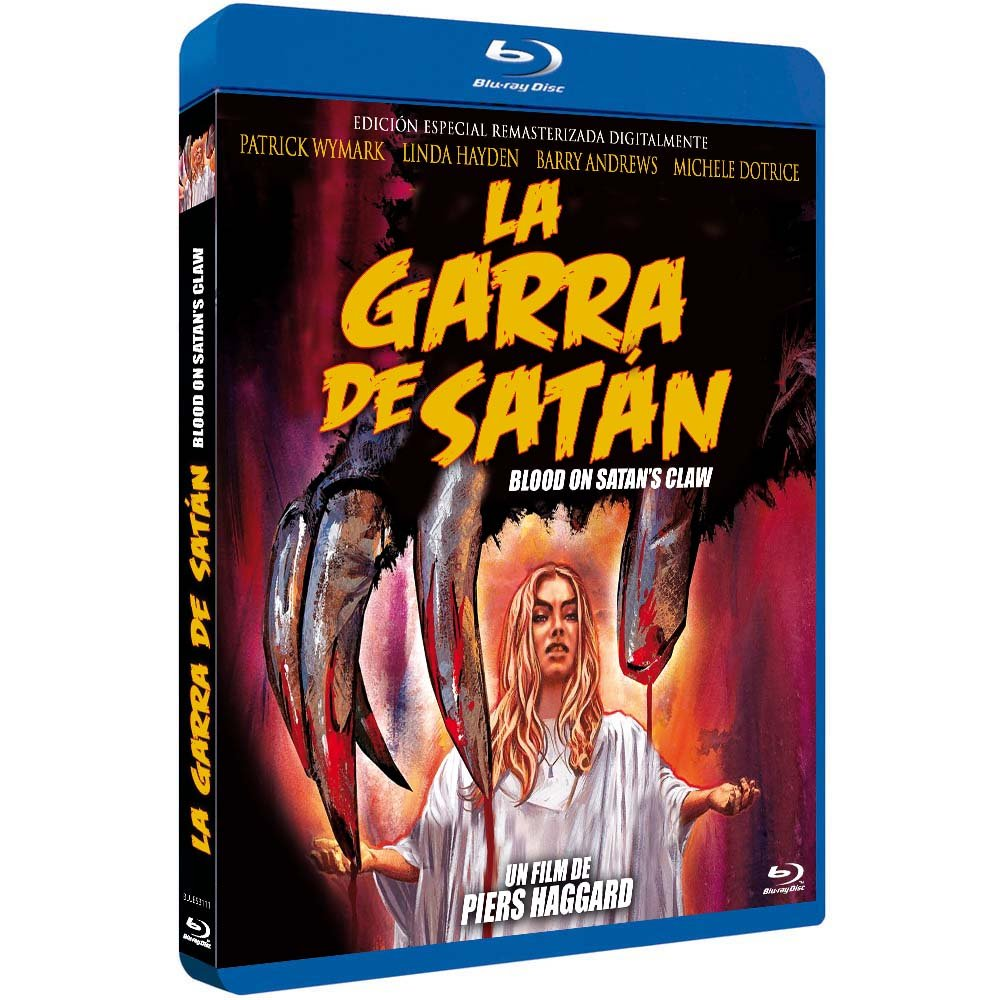 La Garra de Satán BD 1971 Blood on Satan's Claw [Blu-ray]