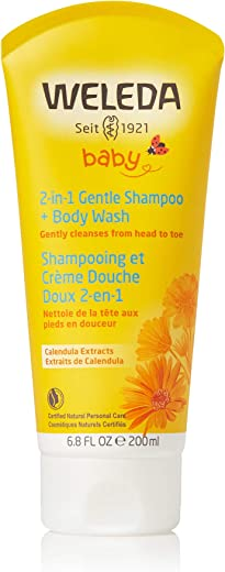 Weleda 2in1 Gentle Shampoo + Body Wash, 6.8 Ounce