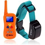 Esky ES084 Upgraded Backlight Waterproof 330 Yard Remote Dog Training Electronic Shock Collar with Beep and Vibration