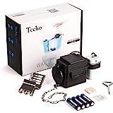 "Techo Touchless Toilet Flush Kit with 8"" Sensor Range, Adjustable Sensor Range and Flush Time, Automatic Motion Sensor…"