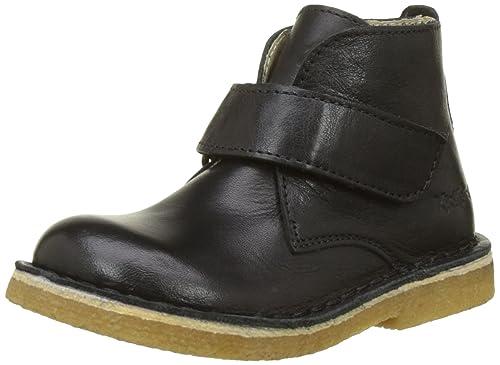 72620a4d1c38d Kickers Boys' REKICK Desert Boots, Black (Noir 8), 12.5UK Child ...