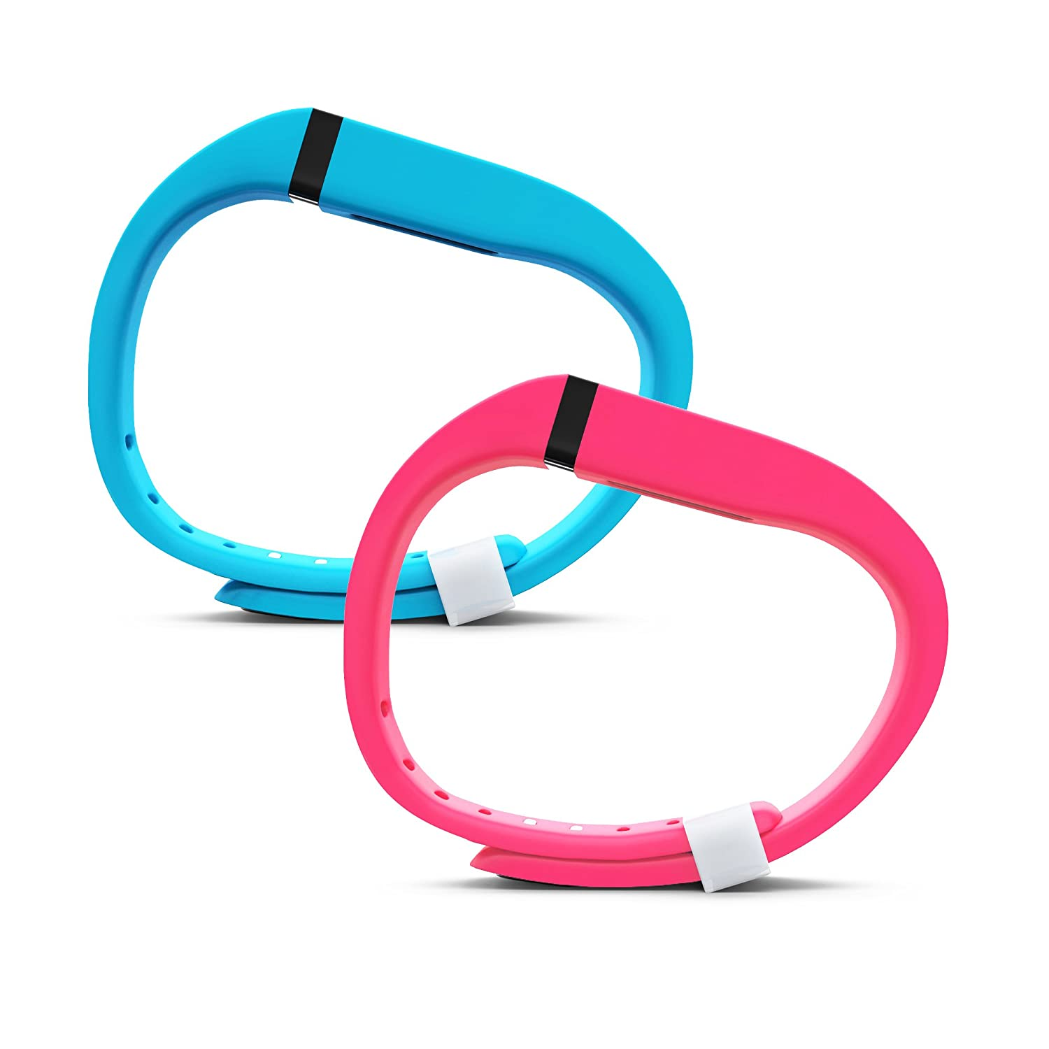 with Extra Security Clasp Large /& Small Teak Products Teak Fitbit Flex Band Replacement Bands for The Fitbit Flex