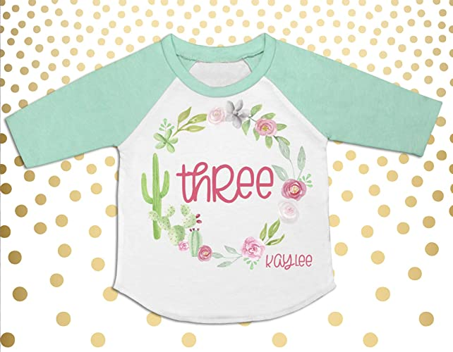 Image Unavailable Not Available For Color Boho 3rd Birthday Outfit Girls Shirt Toddler
