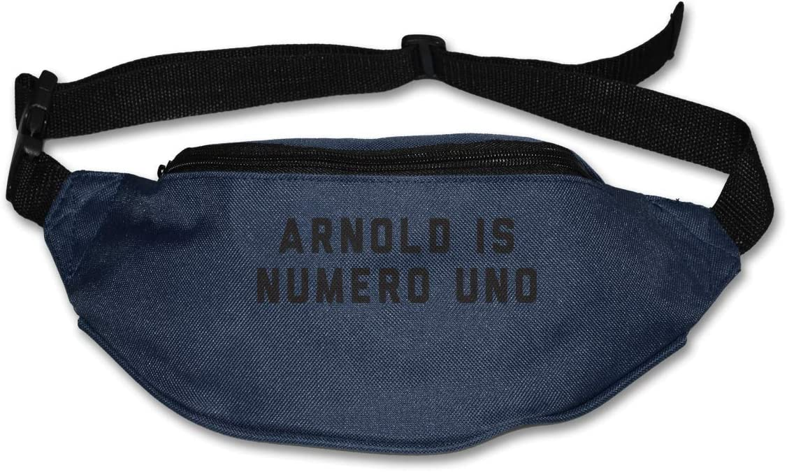 Arnold Is Numero UNO Sport Waist Packs Fanny Pack Adjustable For Run