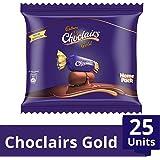 Cadbury Choclairs Gold Home Pack, 25 Candies, 142.5g