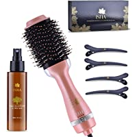 ISHA Hot Air Brush with Magnetic Deluxe Gift Set Box, One Step AU Plug Styler Hair Dryer & Volumizer Hair Dryer Brush…