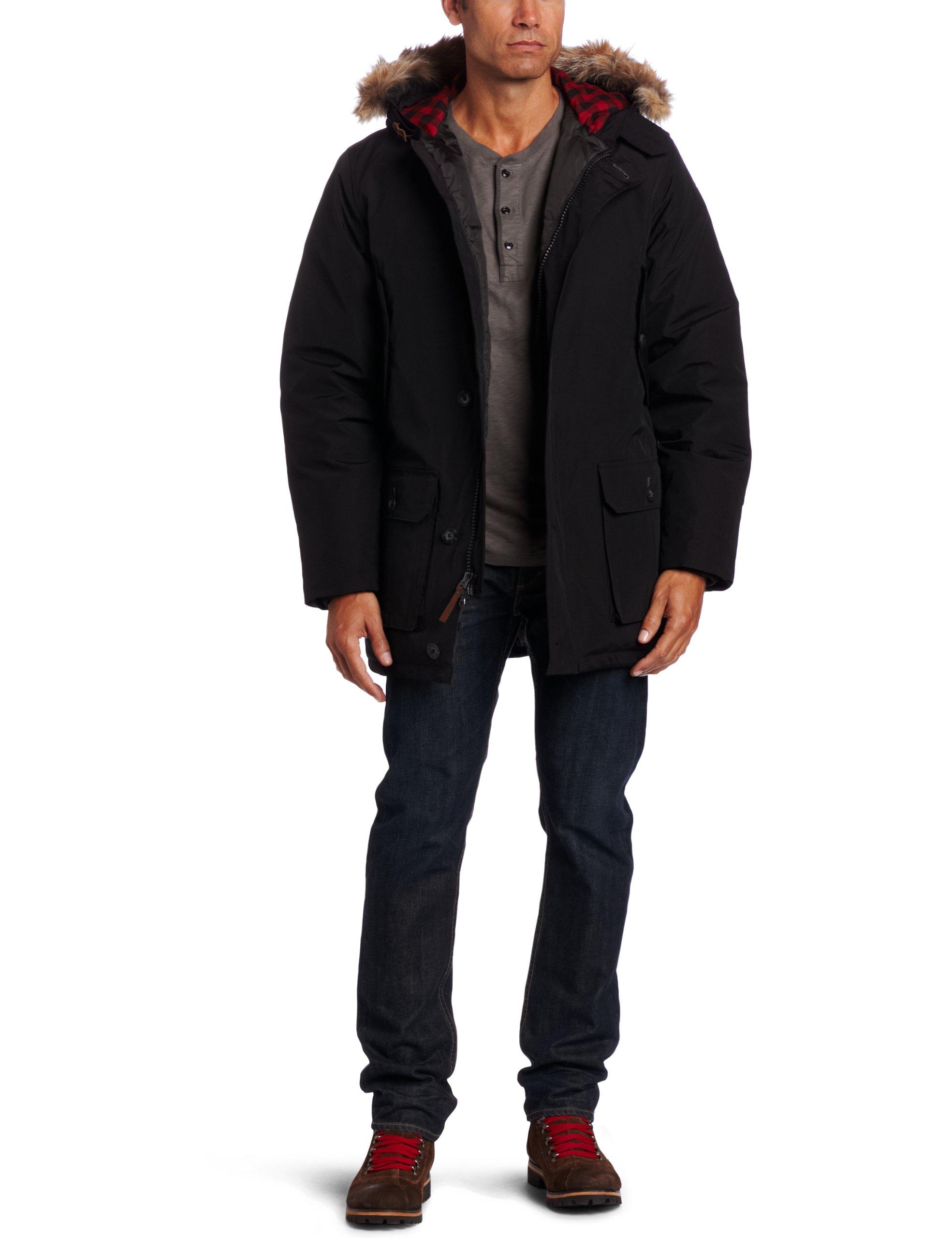 Woolrich Men's Arctic Parka, Black, X-Large
