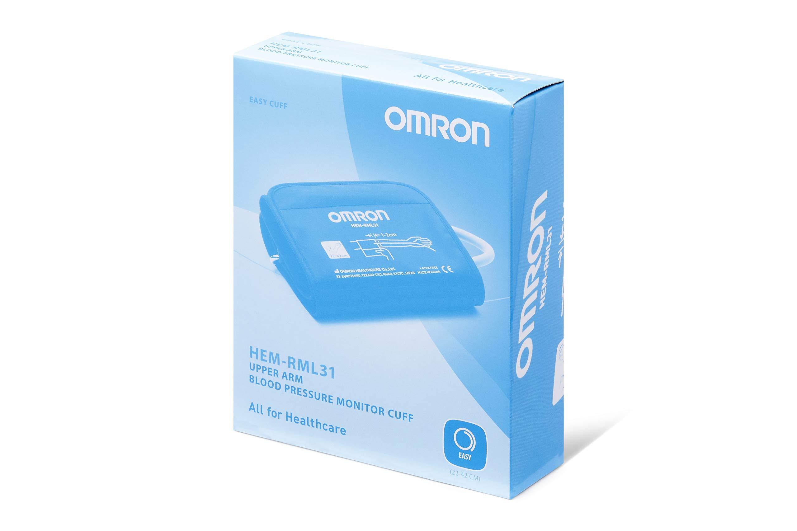 Omron Easy HEM-RML31-E BP Cuff, Medium/Large