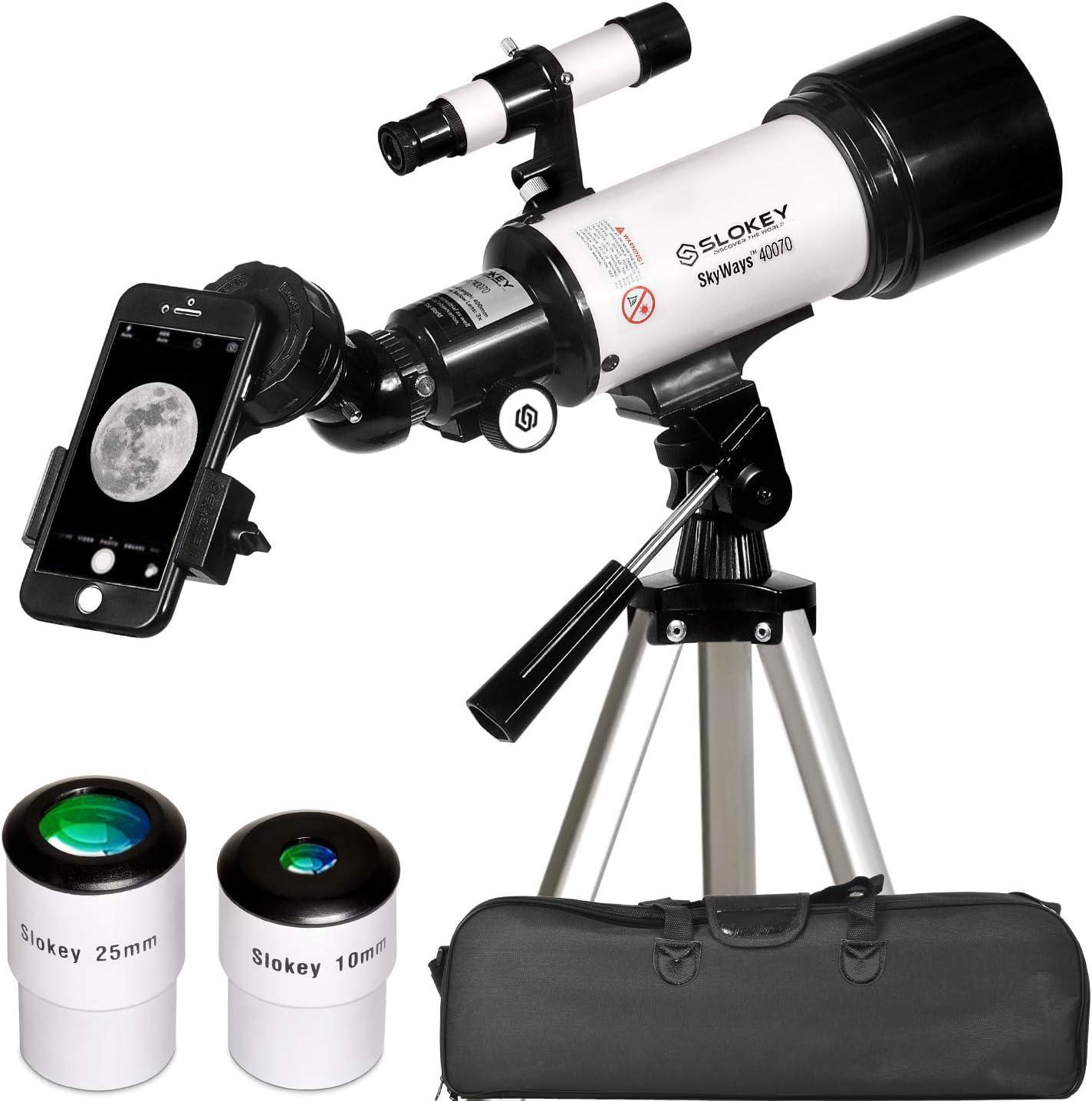 telescopio astronómico portátil