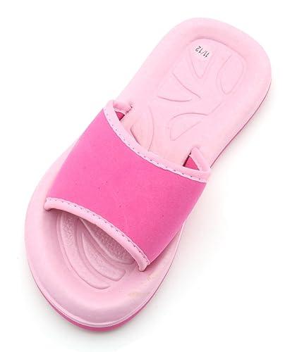 92cd9d65de5a Sandrocks Girls Pool Shoes Flip Flops Sandals Pink  Amazon.co.uk ...
