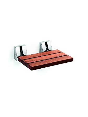 Amazon.com: LB Scagni Folding Shower Seat in Teak Solid Wood, Fold ...