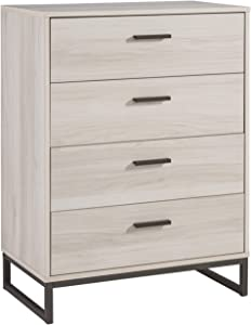 Signature Design by Ashley Socalle Four Drawer Chest, Natural Brown