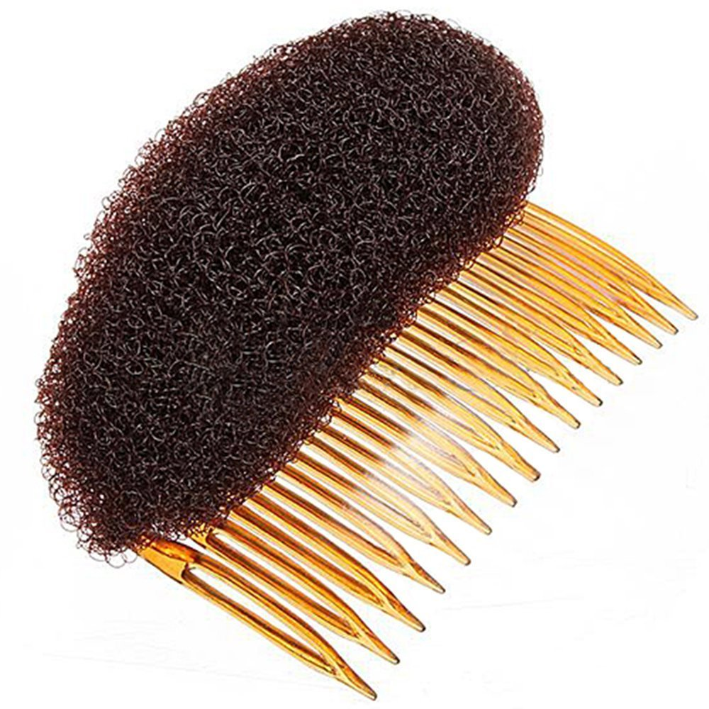 Hair Styler Volume Bouffant Beehive Shaper Bumpits Bump Foam (Brown) Sanwood