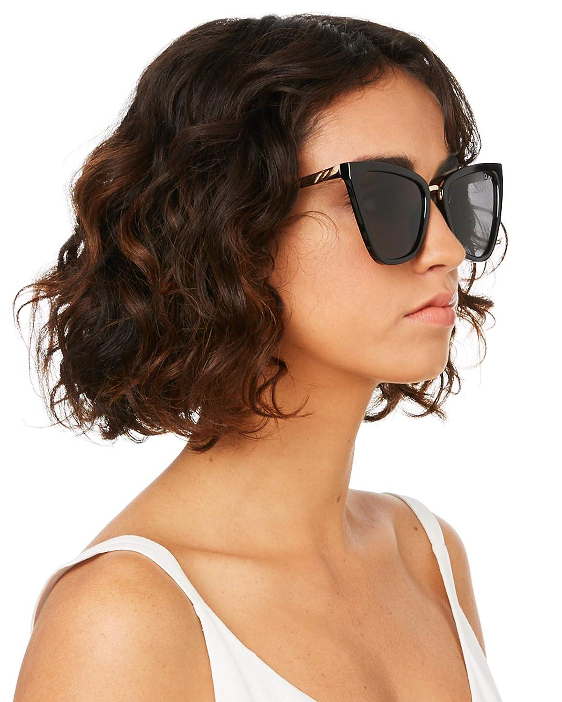 Quay Australia x JLO Womens Reina Oversized Cat Eye Sunglasses