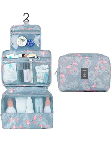 24097c29d3e9 Hanging Travel Toiletry Bag Cosmetic Make up Organizer for Women and Girls  Waterproof (A-