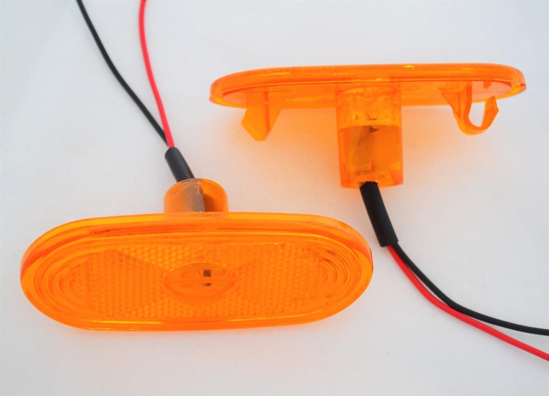 Led Seitenmarkierungsleuchten In Orange 12 V 4 Stück Auto