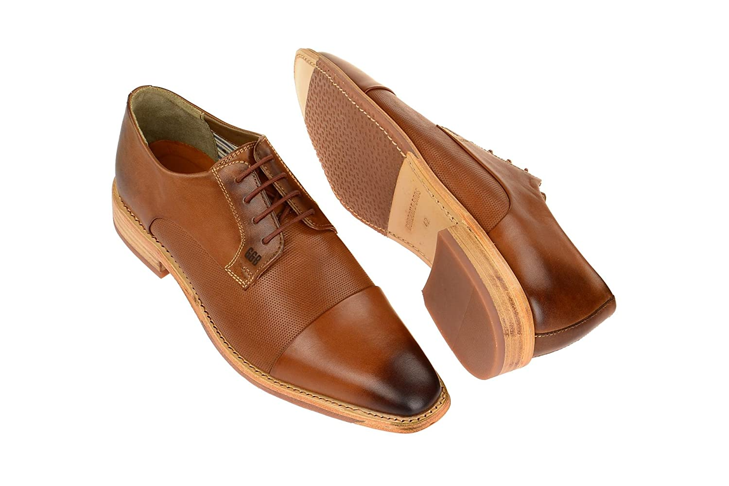 Gordon Businessschuhe & Bros S160747 Herren Businessschuhe Gordon Cognac 4b49fa